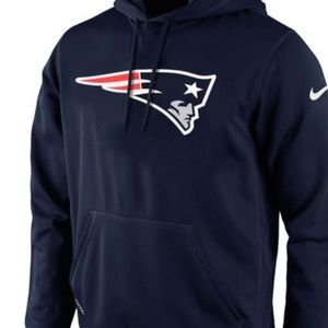 Nike New England Patriots Pullover Training Hoodie